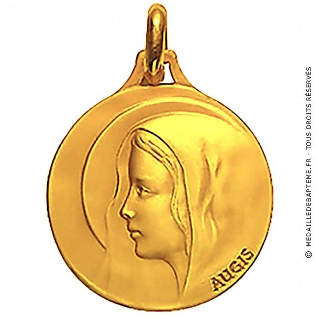 e53aa50a9 Médaille Augis Vierge au voile (Or Jaune)