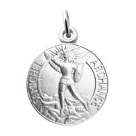 Médaille Archange Saint Michel (Argent)