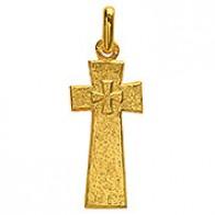 Croix des Chemins de Bionval (Or Jaune)