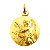 Médaille Ange aux étoiles (Or Jaune)
