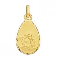 Médaille Ange Goutte (Or Jaune)