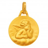 Médaille Ange (Or Jaune 9K)
