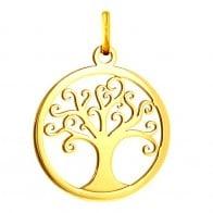 Médaille Arbre de Vie ajourée (Or jaune)