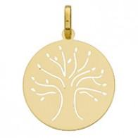 Médaille arbre de vie (Or jaune 9cts)