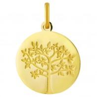 Médaille jeune arbre de vie (Or Jaune 9K)