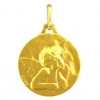 Médaille Ange (Or Jaune)