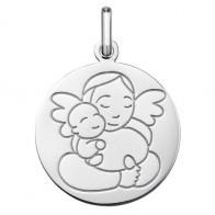 Médaille Ange à l'Enfant (Argent)