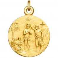 Médaille Le Baptême du Christ