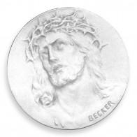 Médaille Christ Ecce Homo 18mm (Argent)
