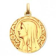 Médaille Vierge à l'Eglantier