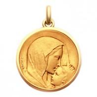Médaille Vierge à l'Enfant - Le Baiser