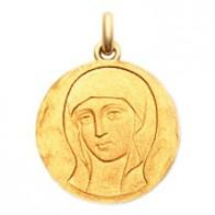 Médaille Vierge Byzantine