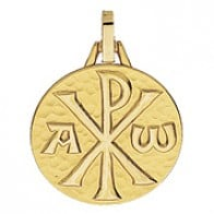 Médaille Chrisme (Or Jaune 9k)