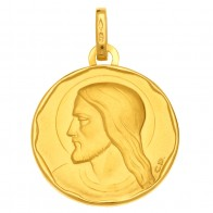 Médaille Christ (Or Jaune)