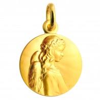 Médaille Ange Apaisé (or jaune)