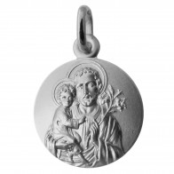 Médaille Joseph et l'Enfant auréolés (Argent)