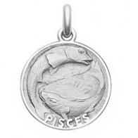 Médaille Zodiaque Poissons BECKER ( argent)