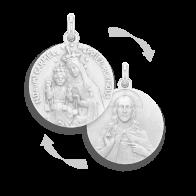 Médaille Scapulaire (argent)