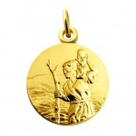 Médaille Saint Christophe (Or Jaune)