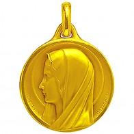 Médaille Sancta Maria (Or Jaune)