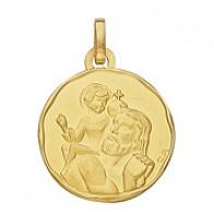 Médaille St Christophe (Or Jaune)