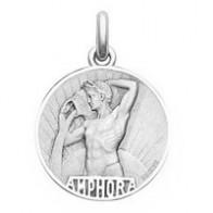 Médaille Zodiaque Verseau BECKER ( argent)
