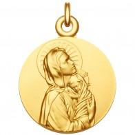 """Médaille Vierge à l'Enfant """"La Maternité"""""""