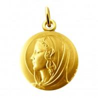 Médaille Vierge (Or Jaune)