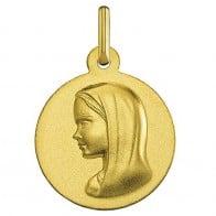 Médaille Vierge moderne (Or Jaune)