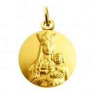 Médaille Vierge Notre Dame de bonne espérance (or jaune)