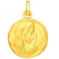 Médaille Vierge (Or Jaune 9K)