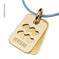 Pendentif SIGNS Verseau (Or Jaune)