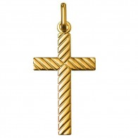Croix lapidée  (Or Jaune 9K)
