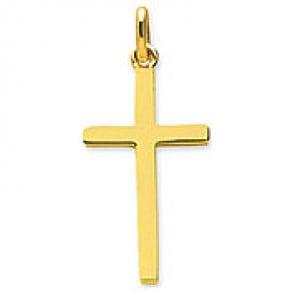 Pendentif Croix (Or Jaune)
