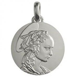 Médaille Madone de Filippo Lippi (Argent)