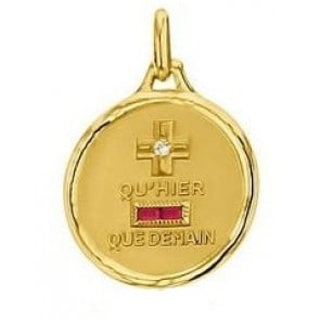Médaille d'Amour Eternel (Or Jaune)