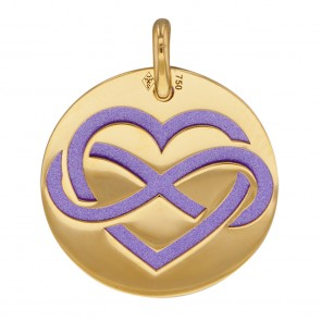 Medaille Amour Infini (Or Jaune)