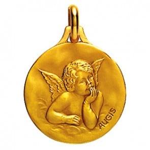 Médaille Ange Augis (Or Jaune)