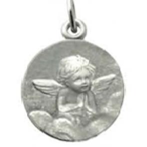 Médaille Ange en prière (Argent)