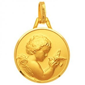 Médaille Ange et Colombe
