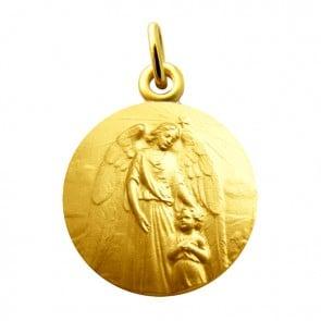 Médaille Ange Gardien Réconfort (Or Jaune)