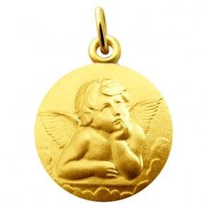 Médaille Ange Pensif Raphael Martineau (Vermeil)