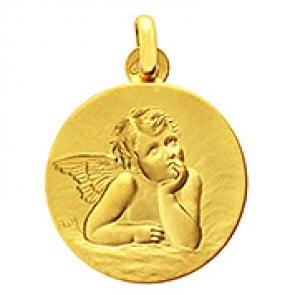 Médaille Ange pensif Raphael