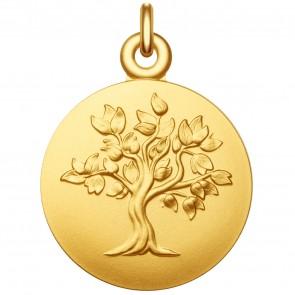 Médaille arbre de vie en or jaune