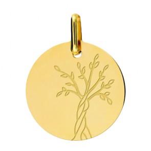 Médaille Arbre de Vie polie
