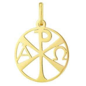 Médaille Chrisme ajouré