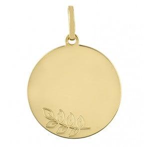 Médaille Le Rameau d'Olivier (Or Jaune)