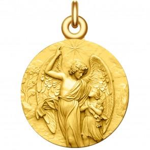 Medaille bapteme ange gardien