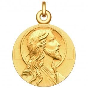 Medaille de Bapteme Le Christ