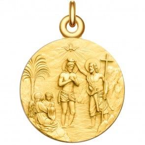 Medaille Bapteme du Christ